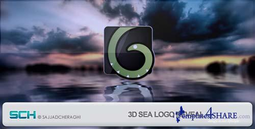 3D Sea Logo Reveal - After Effects Project (Videohive)