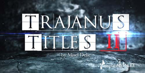 Trajanus Titles 2 - Trailer - After Effects Project (Videohive)