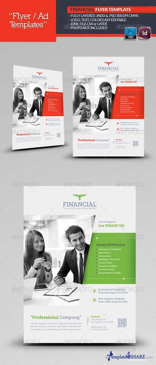 GraphicRiver Financial Flyer Template