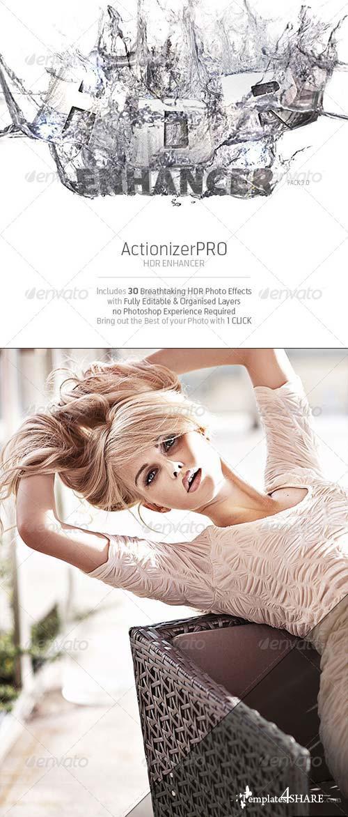 GraphicRiver ActionizerPRO - HDR Enhancer Pack 3.0