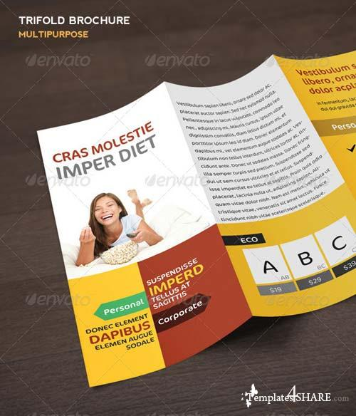GraphicRiver Multipurpose Trifold Brochure 5488688