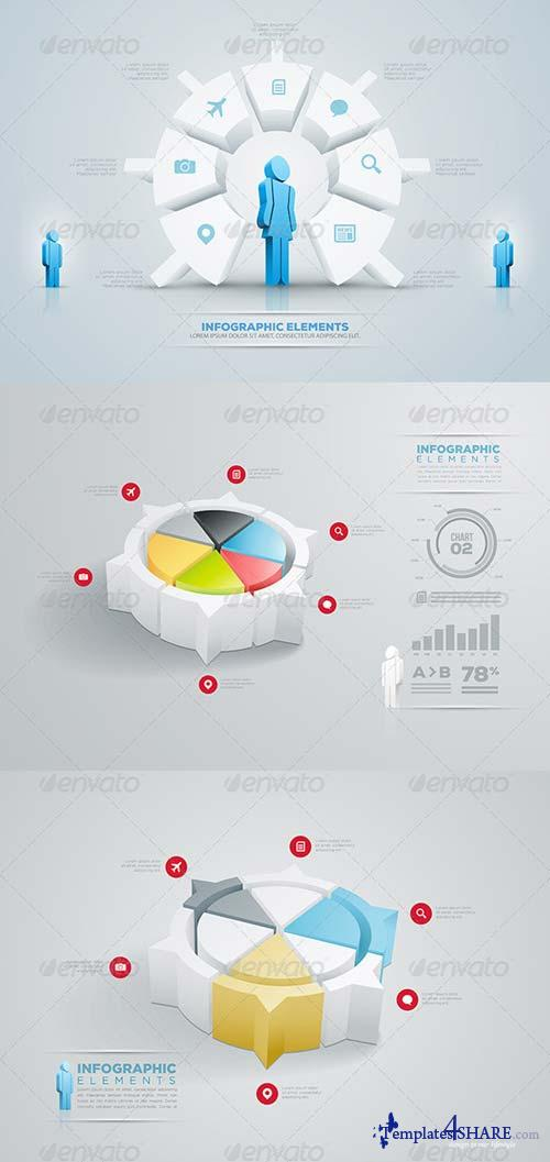 GraphicRiver Pie Chart Infographic Collection