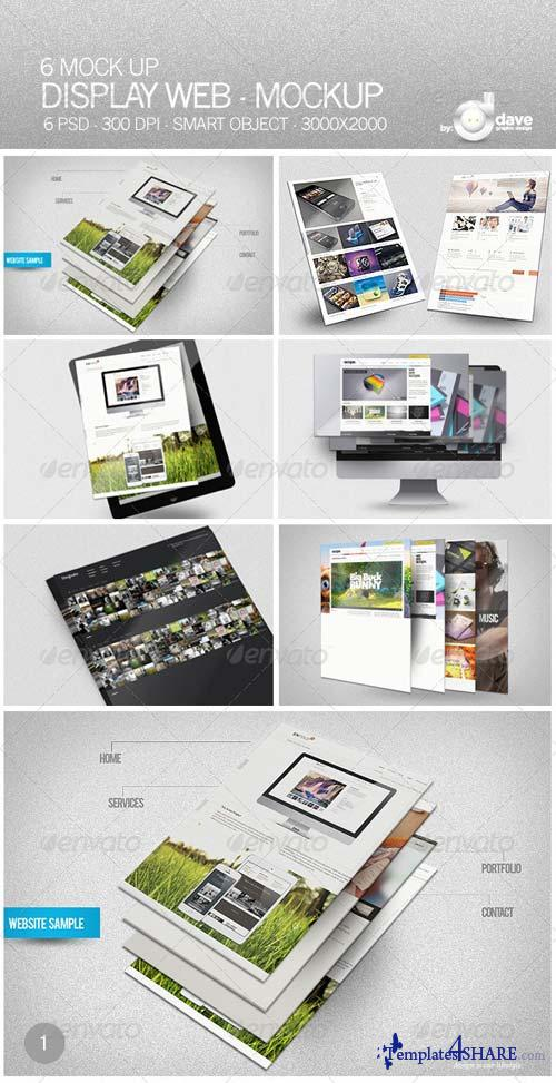 GraphicRiver Display Web - Mockup