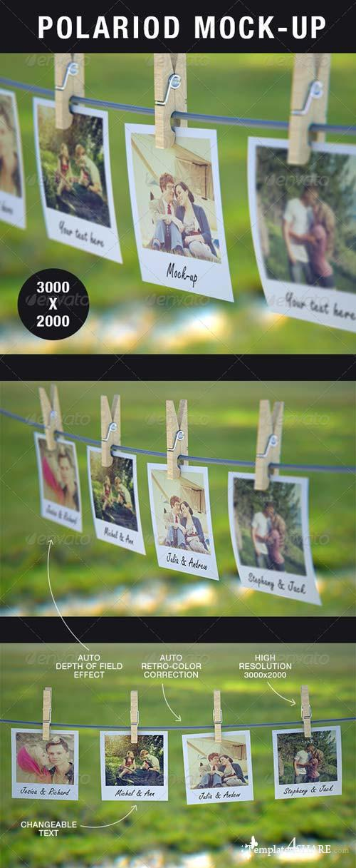 GraphicRiver Polaroid Mock-Up