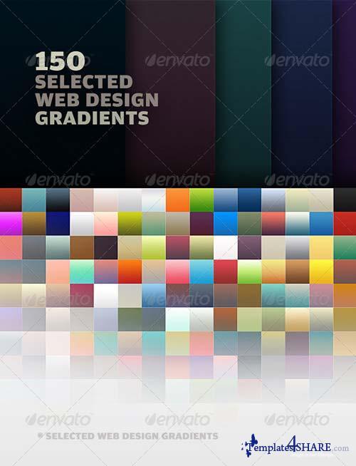 GraphicRiver 150 Web Design Gradients