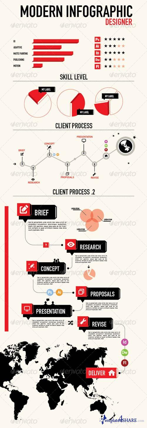 GraphicRiver Infographic for Designer