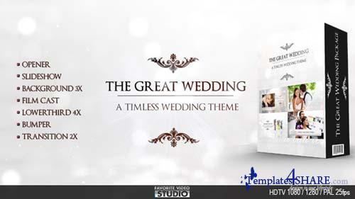 The Great Wedding Pack - After Effects Project (Videohive)
