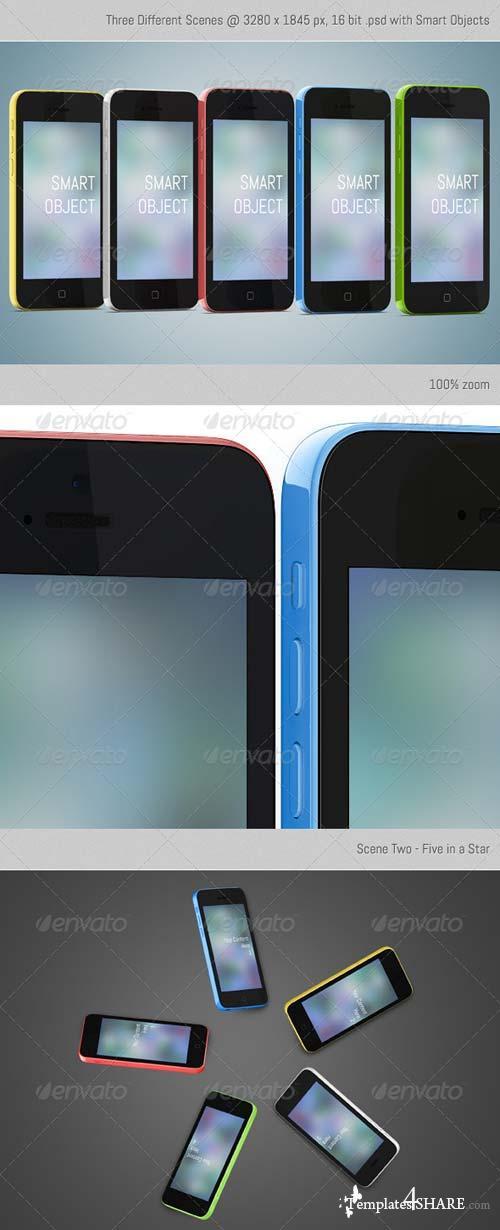 GraphicRiver SmartPhone 5C
