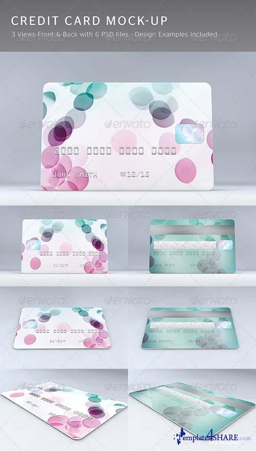 GraphicRiver Credit Card Mock-Up