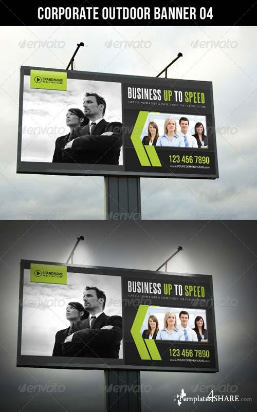 GraphicRiver Corporate Outdoor Banner 06