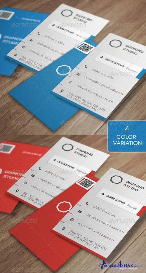 GraphicRiver Corporate Business Card v6