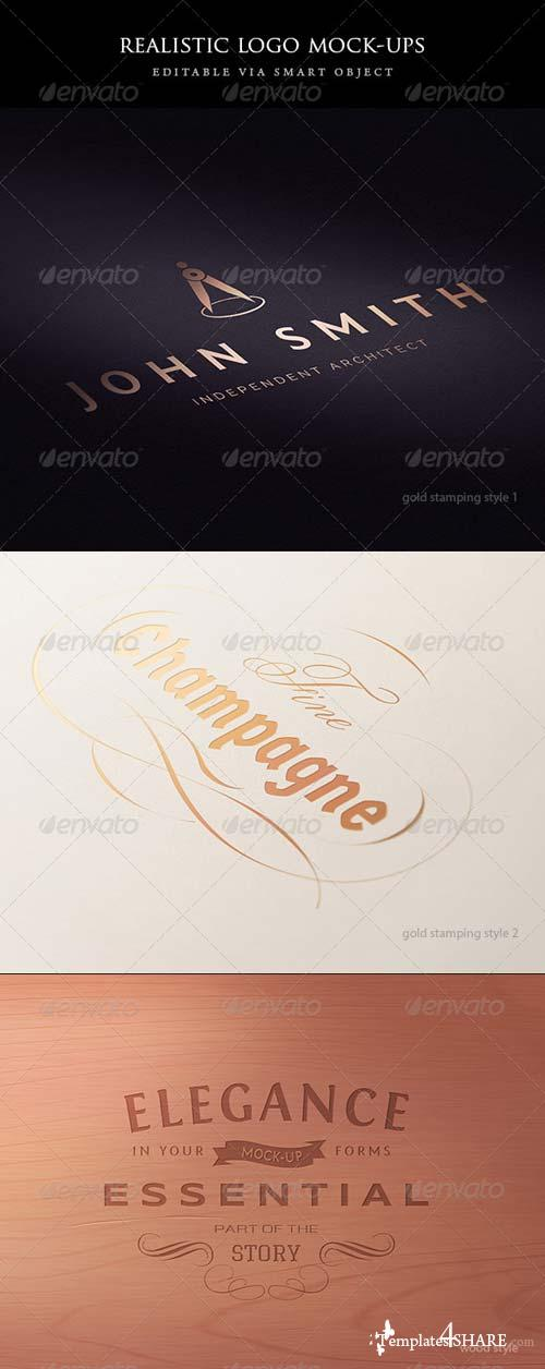GraphicRiver 5 logo mock-ups