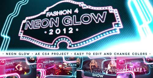 Fashion 4 - Neon Glow - After Effects Project (Videohive)