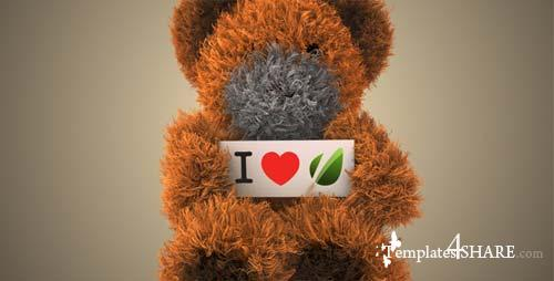 Dancing Teddy Bear - After Effects Project (Videohive)