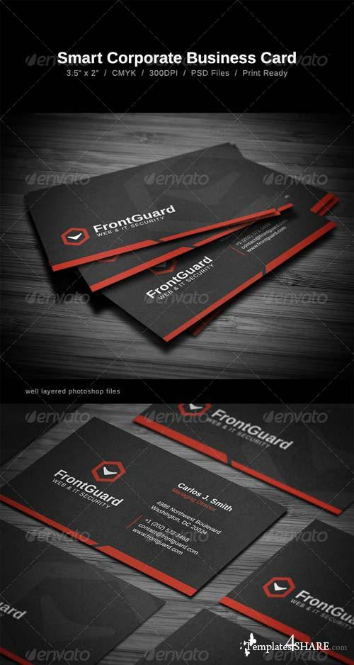 GraphicRiver Smart Corporate Business Card