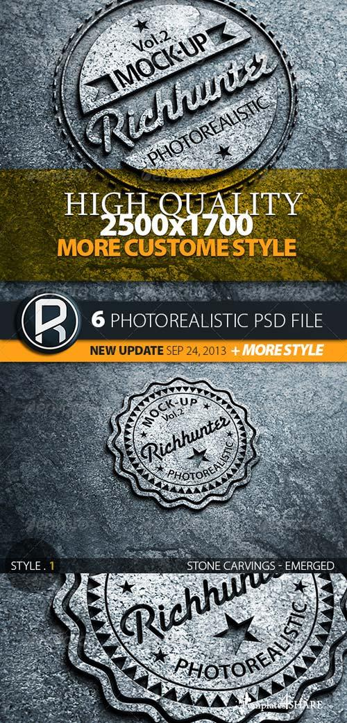 GraphicRiver Mock-Up Logo 3D Realistic Presentation / Vol.2