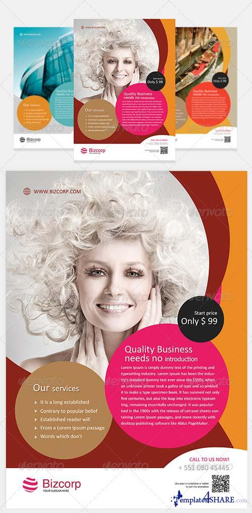 GraphicRiver Multipurpose Corporate Flyer Vol 4