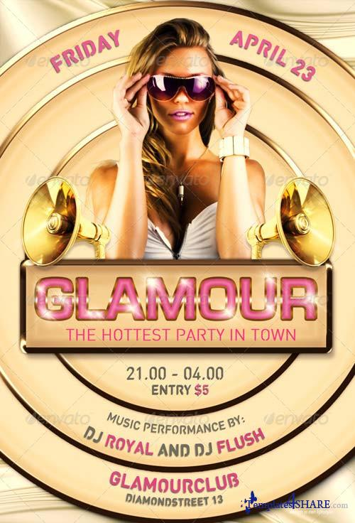 GraphicRiver Flyer Template Glamour