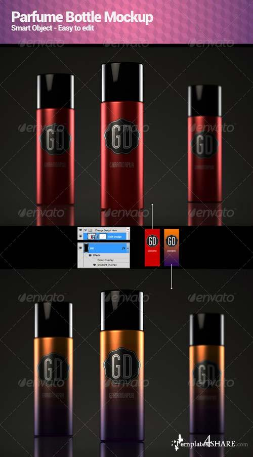 GraphicRiver Parfume Bottle Mockup