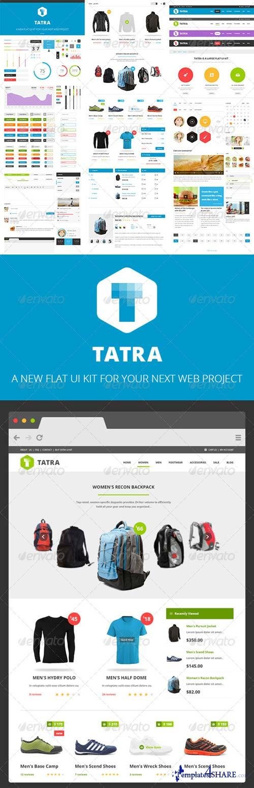 GraphicRiver Tatra Flat Ui Kit