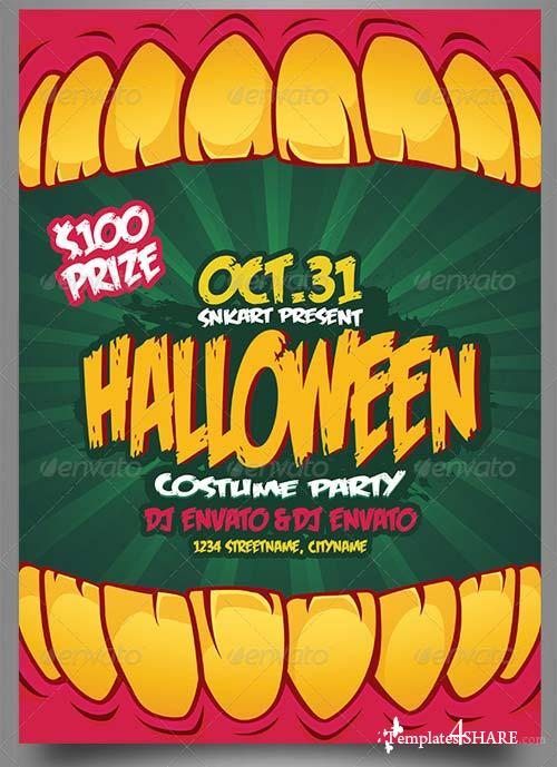 GraphicRiver Halloween Party 5548888