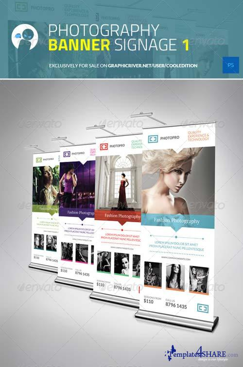 GraphicRiver Photography Banner Signage 1
