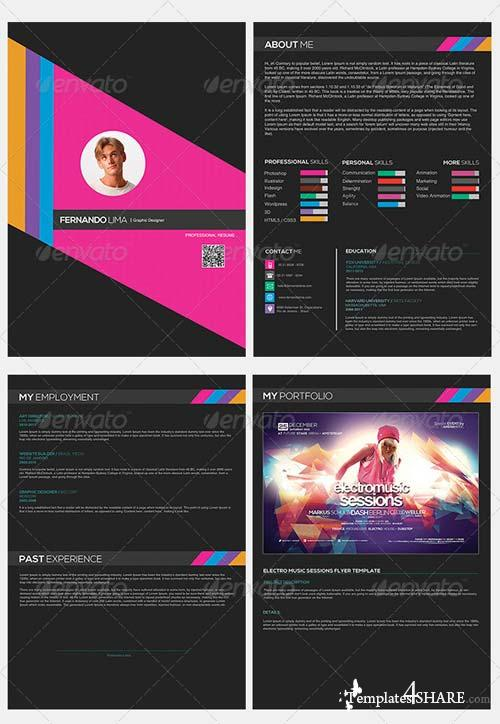 GraphicRiver Creative Resume 001