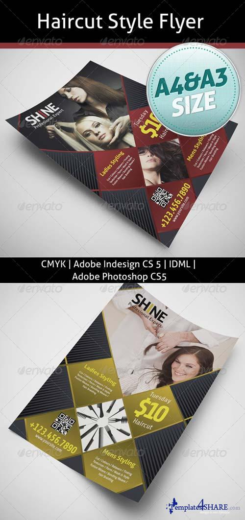 GraphicRiver Haircut Style Flyer
