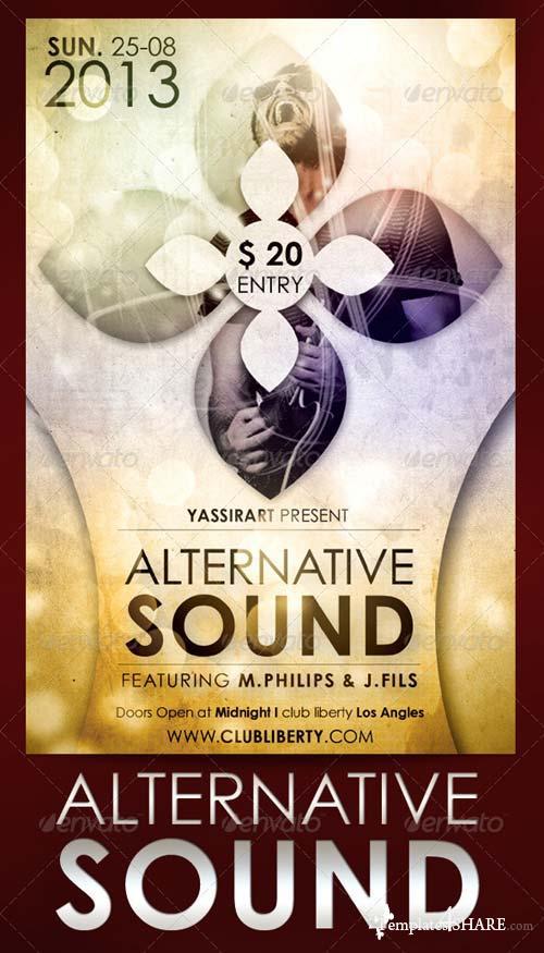 GraphicRiver Alternative Sound Flyer Template
