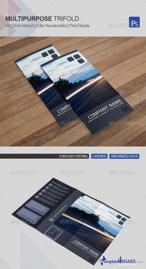 GraphicRiver Multipurpose Trifold Template 12
