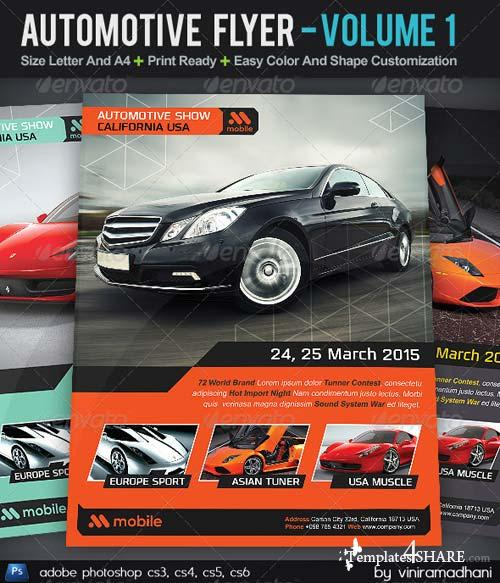 GraphicRiver Automotive Flyer | Volume 1