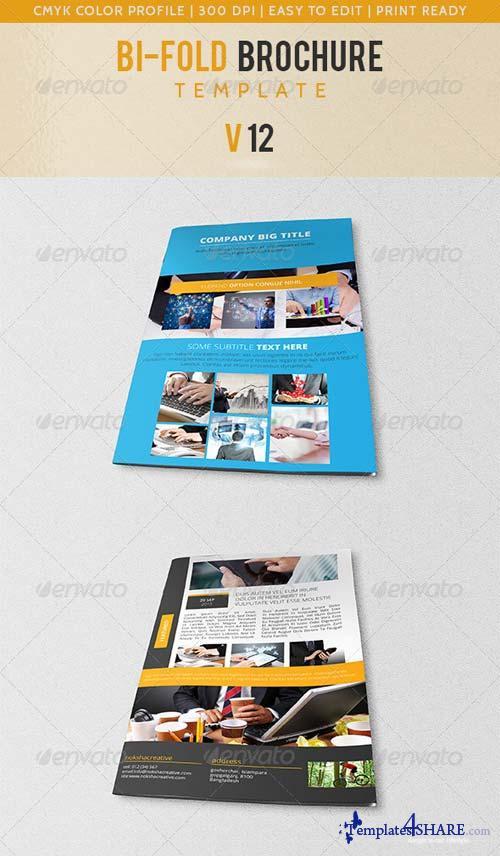 GraphicRiver Bi-Fold Corporate Brochure V-12
