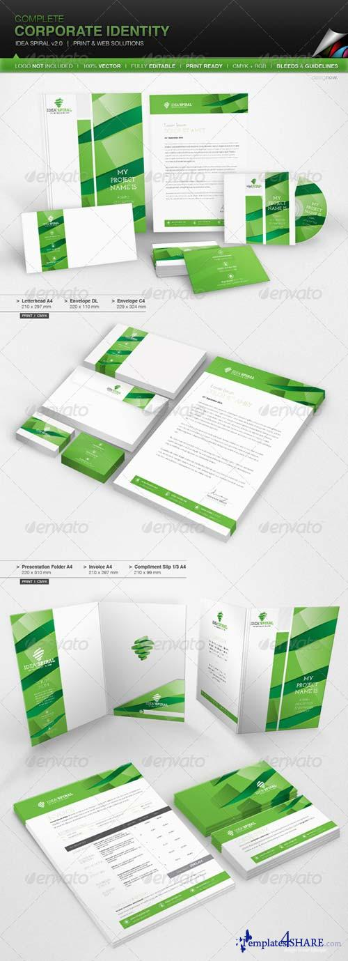 GraphicRiver Corporate Identity - Idea Spiral v 2.0