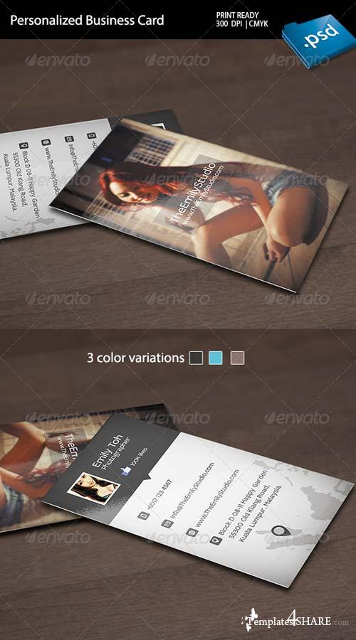 GraphicRiver Personalized Business Card