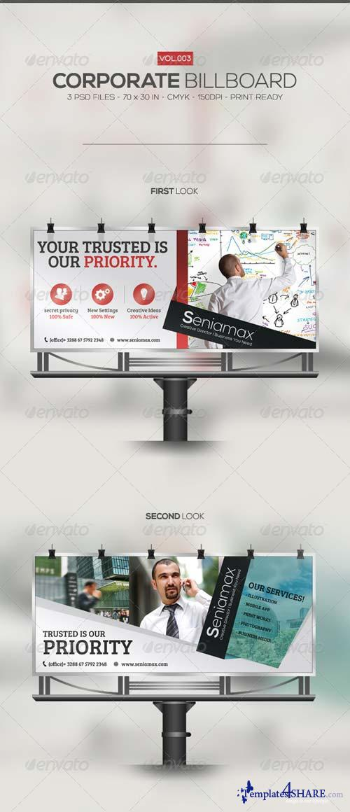 GraphicRiver Corporate Billboard 003