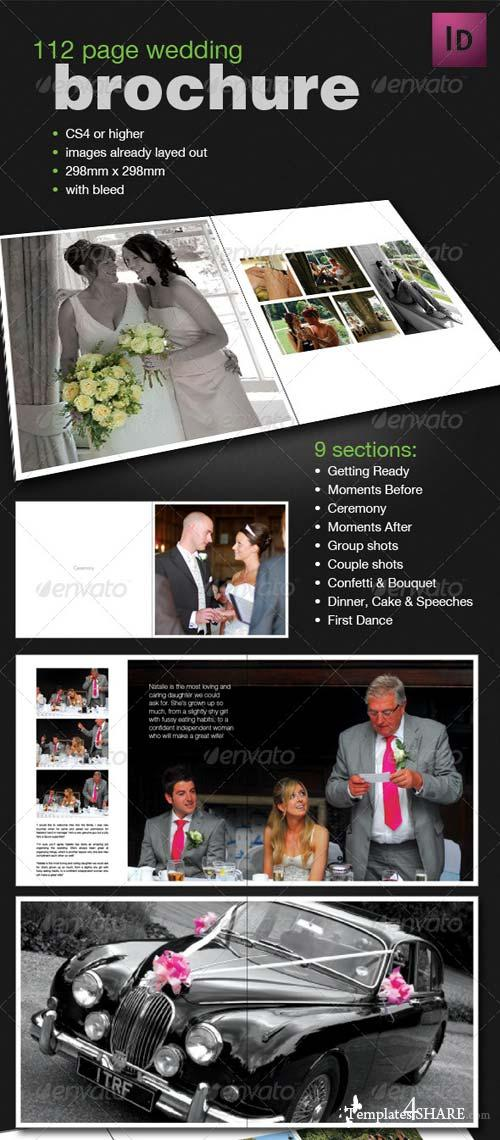 GraphicRiver 112 Page Wedding Book Template