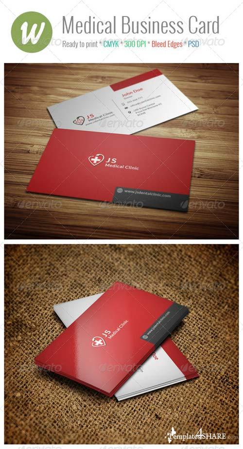 GraphicRiver Medical Business Card