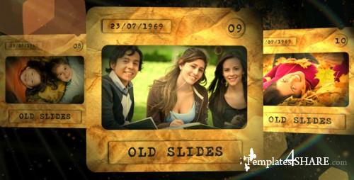 Old Slides - After Effects Project (Videohive)