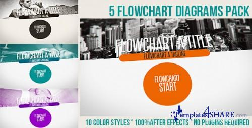 Flowchart Diagrams Pack - After Effects Project (Videohive)