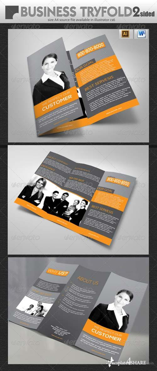 GraphicRiver Official Tri-Fold Brochure Design