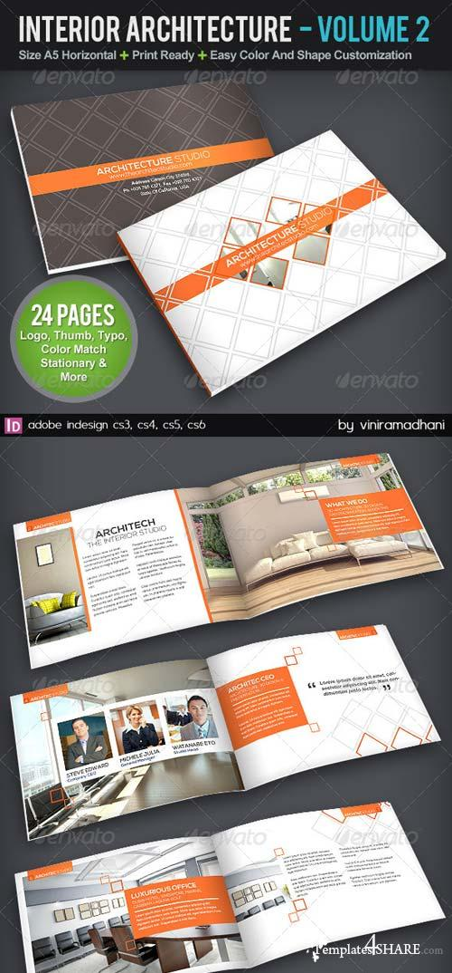 GraphicRiver Interior Achitecture Brochure | Volume 2