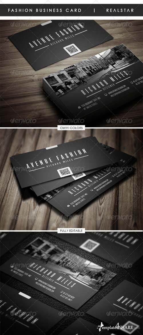 GraphicRiver Fashion Business Card