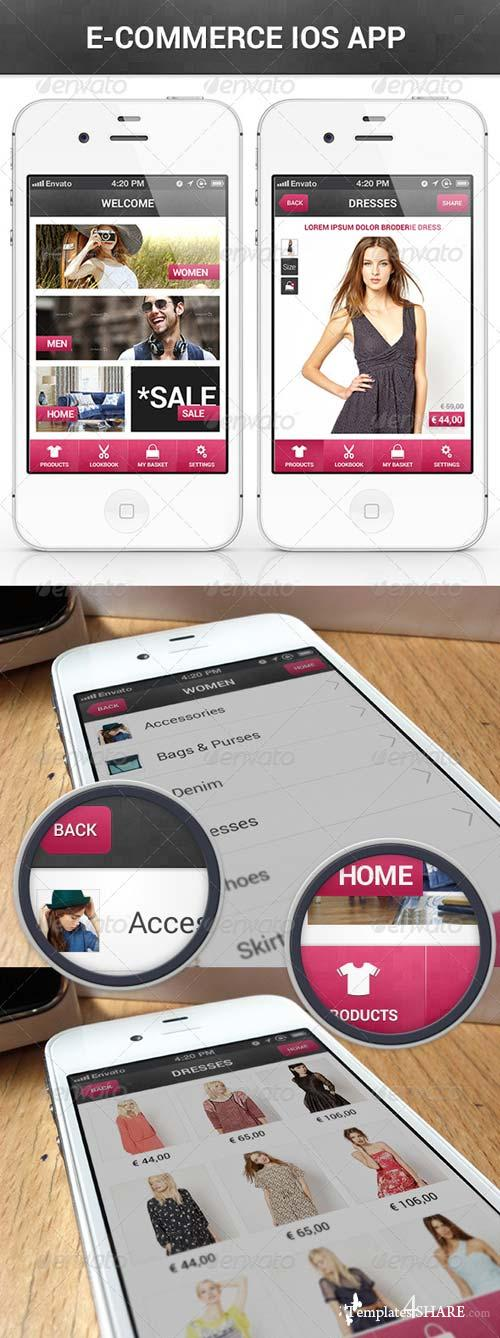 GraphicRiver E-Commerce IOS App