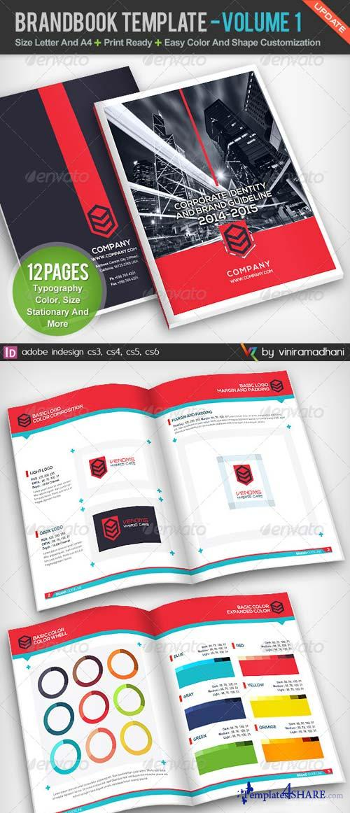 GraphicRiver BrandBook Template | Volume 1