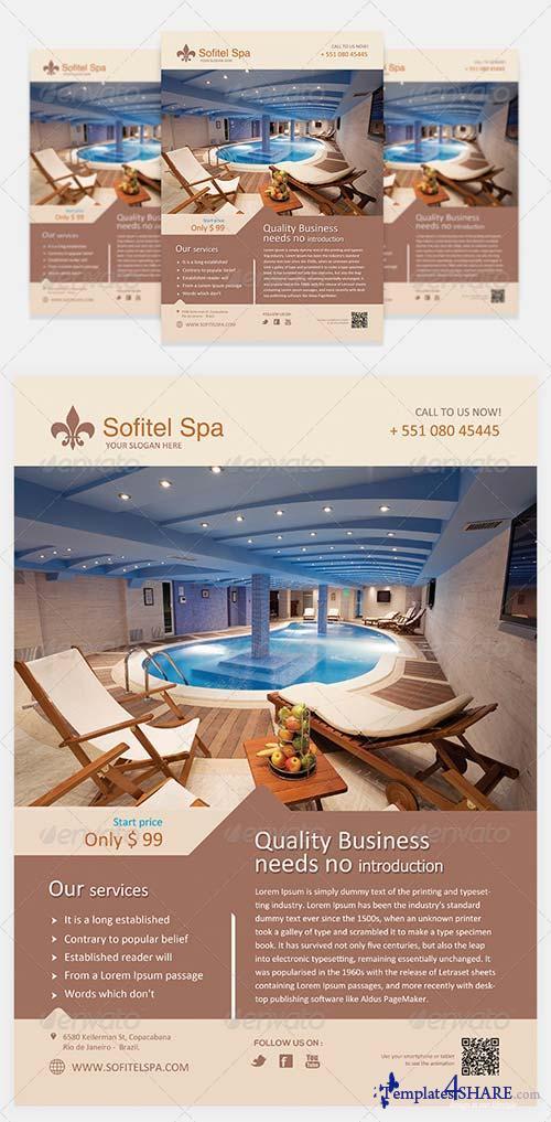 GraphicRiver Spa Flyer Template Vol 1