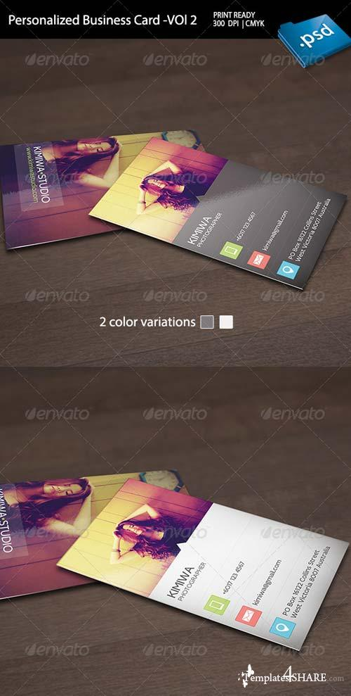 GraphicRiver Personalized Business Card Vol2