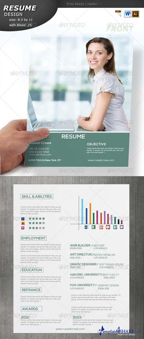 GraphicRiver Resume Design