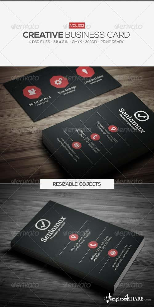 GraphicRiver Creative Business Card 052