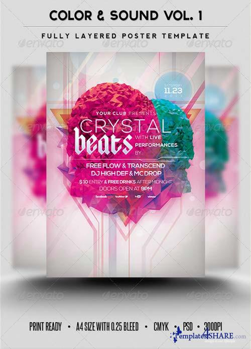 GraphicRiver Color & Sound Vol.1
