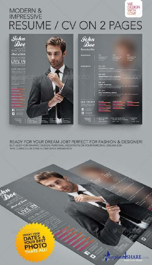 GraphicRiver Resume/CV | Fashion & Design